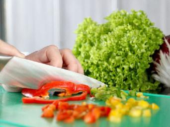 Verse groenten en salades
